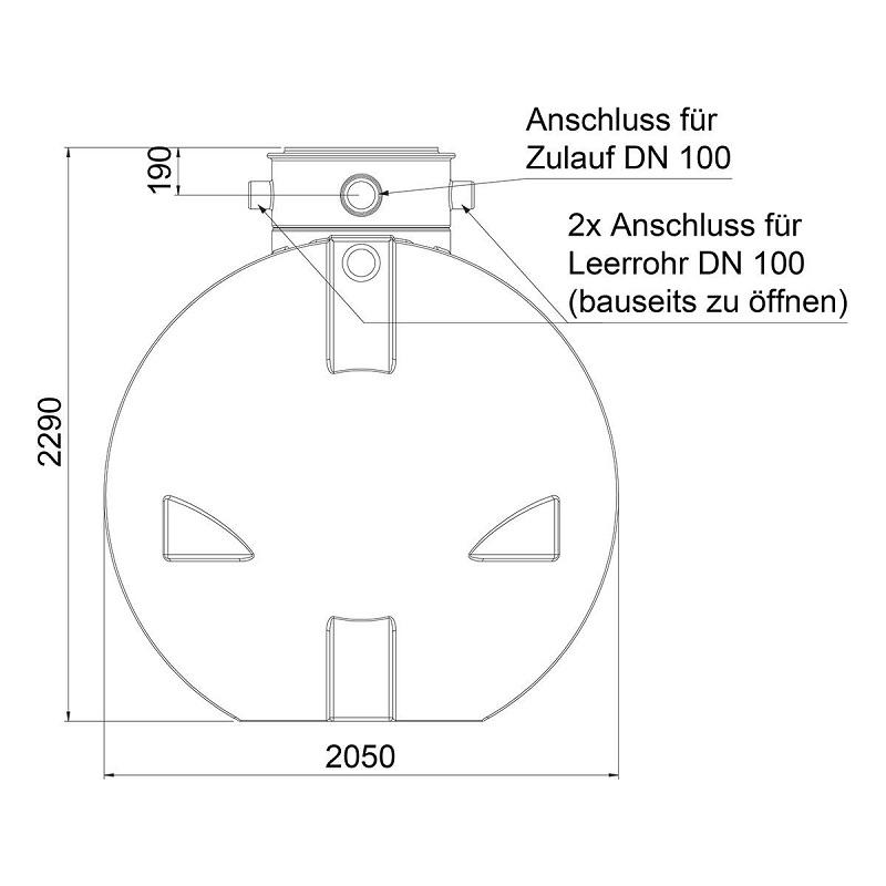 regenwassertank zisterne ozeanis 6000 l gartenanlage inkl pumpe deckel ebay. Black Bedroom Furniture Sets. Home Design Ideas