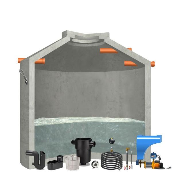 Regenwasseranlage Hydrophant 6850Liter Haus