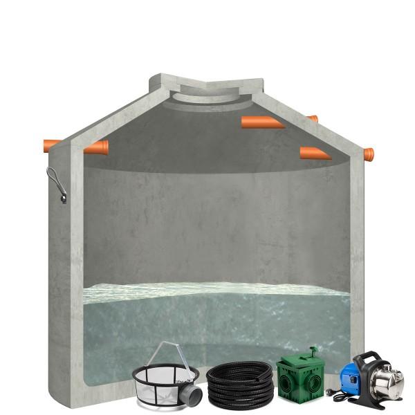 Regenwasseranlage Hydrophant 6850L Garten