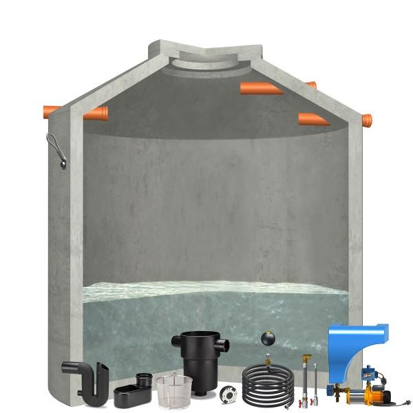 Regenwasseranlage Hydrophant 8000Liter Haus