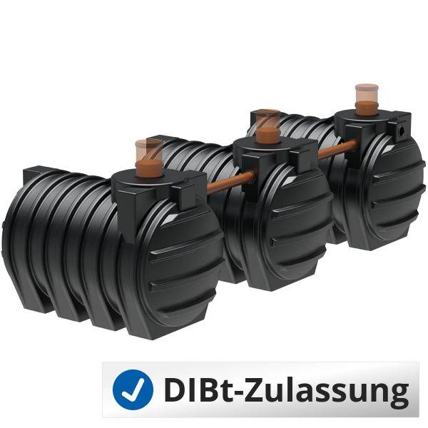 Abwassersystem AQa.Line 9000Liter (mit DIBt-Zulassung) – grundwasserstabil