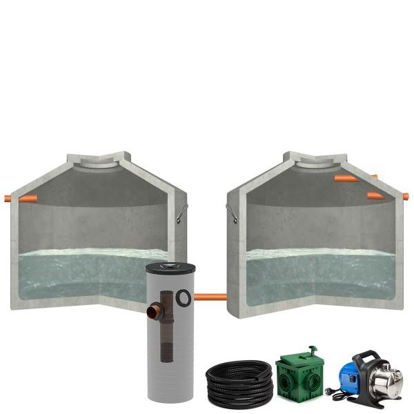 Regenwasseranlage Hydrophant 11200L Garten