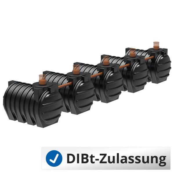 Abwassersystem AQa.Line 15000Liter (mit DIBt-Zulassung) – grundwasserstabil