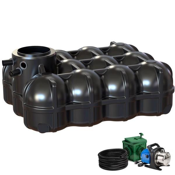 Regenwasseranlage Pluvo plus 5000 Liter Garten