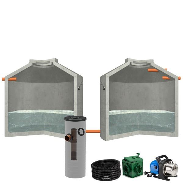 Regenwasseranlage Hydrophant 13700L Garten