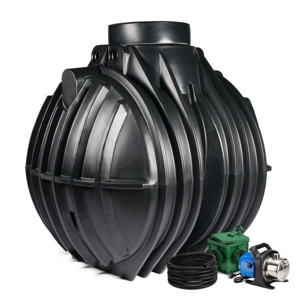 Regenwasseranlage Premium 5300 Liter Garten