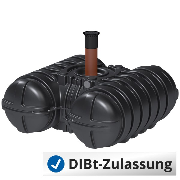 Abwasserflachtank Twinbloc 3500Liter (mit DIBt-Zulassung)