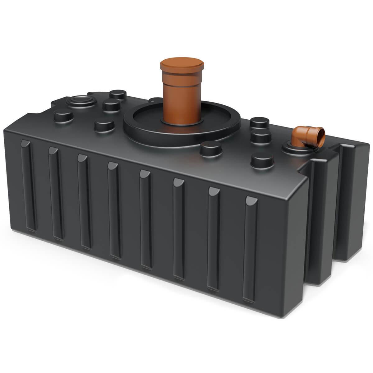 Relativ Abwassertanks zum Sammeln von häuslichen Abwasser | zisternenprofi.de BD32