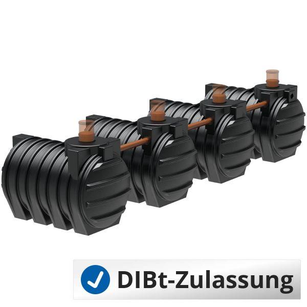 Abwassersystem AQa.Line 12000Liter (mit DIBt-Zulassung) – grundwasserstabil